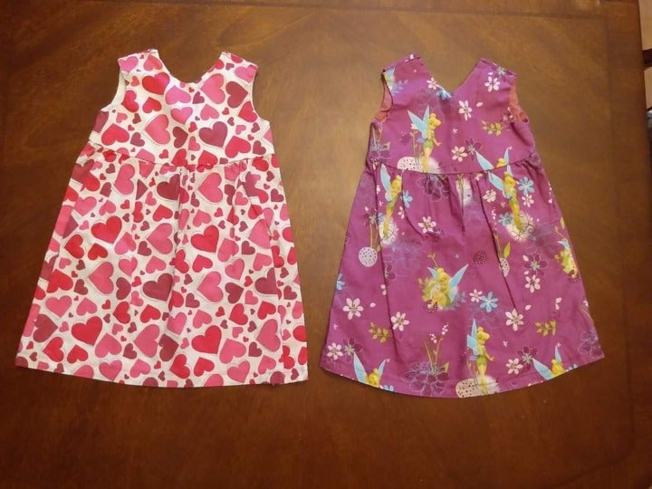 Handmade Toddler Dress Set