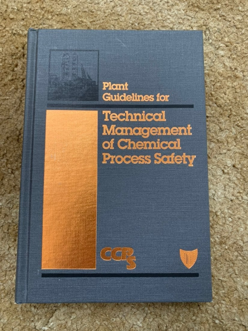Technical Manage/Chemical Process Safty