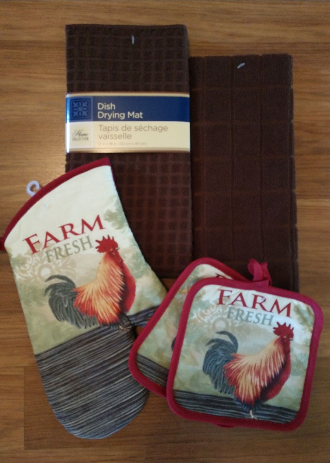 Farmhouse Rooster Towel Set/5