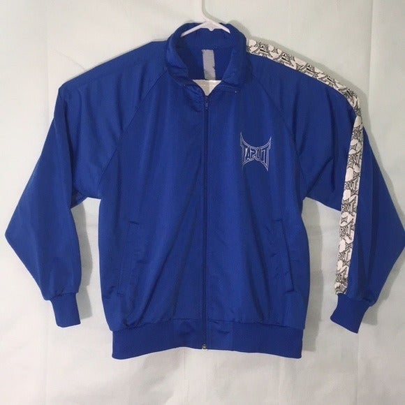 Vintage Tapout Zip Up Polyester Jacket