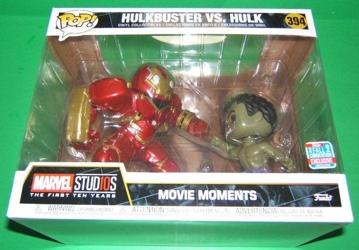 HULKBUSTER VS. HULK Movie Moments POP!