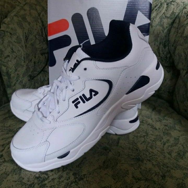 Fila Men's Leather Tre Runner Shoe 10.5