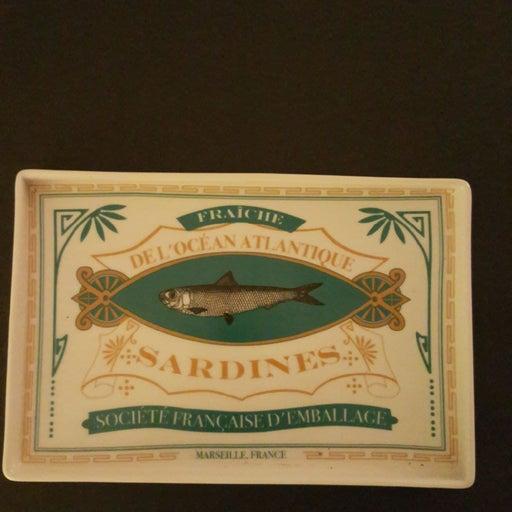 "Stoneware Sardine 9 3/4"" Tray"