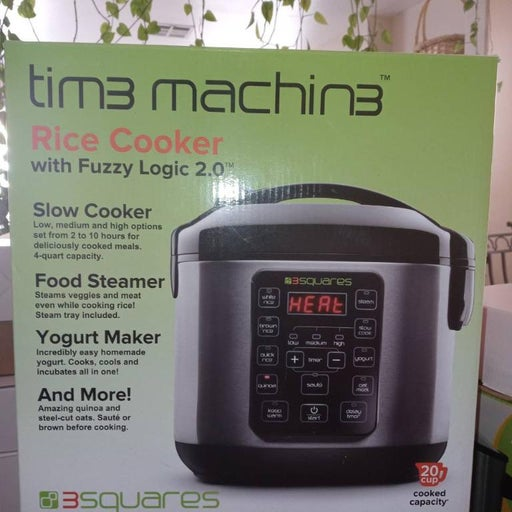 3 Squares 3RC-3050 Rice cooker, 20 Cup/4
