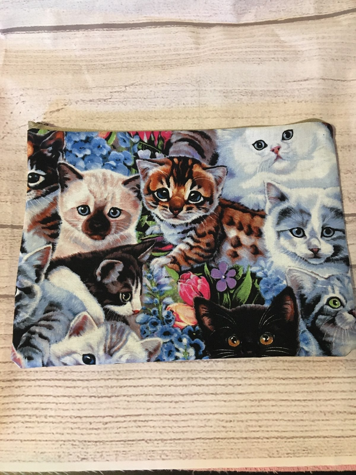 Cats compact pouch-FREE PERSONALIZATION