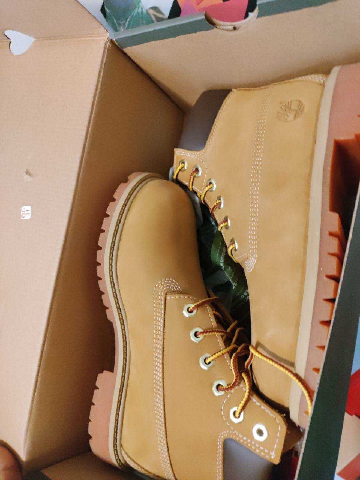Timberland Boots original box