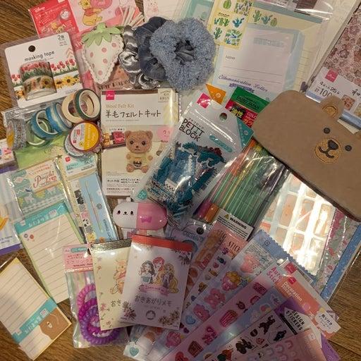 Kawaii stationary customized package