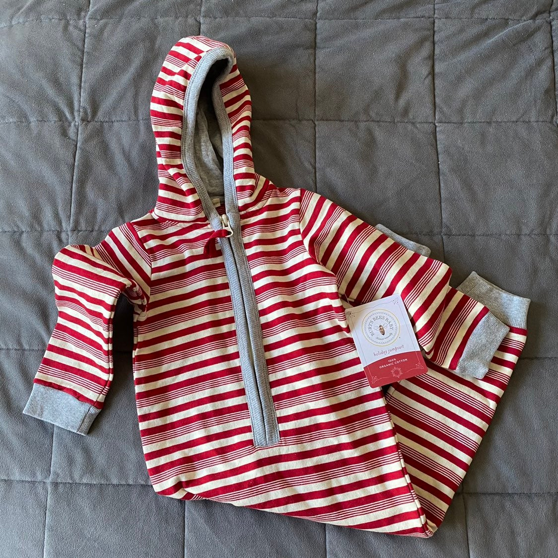 NWT Burt's Bees Baby Jumpbees 12 months