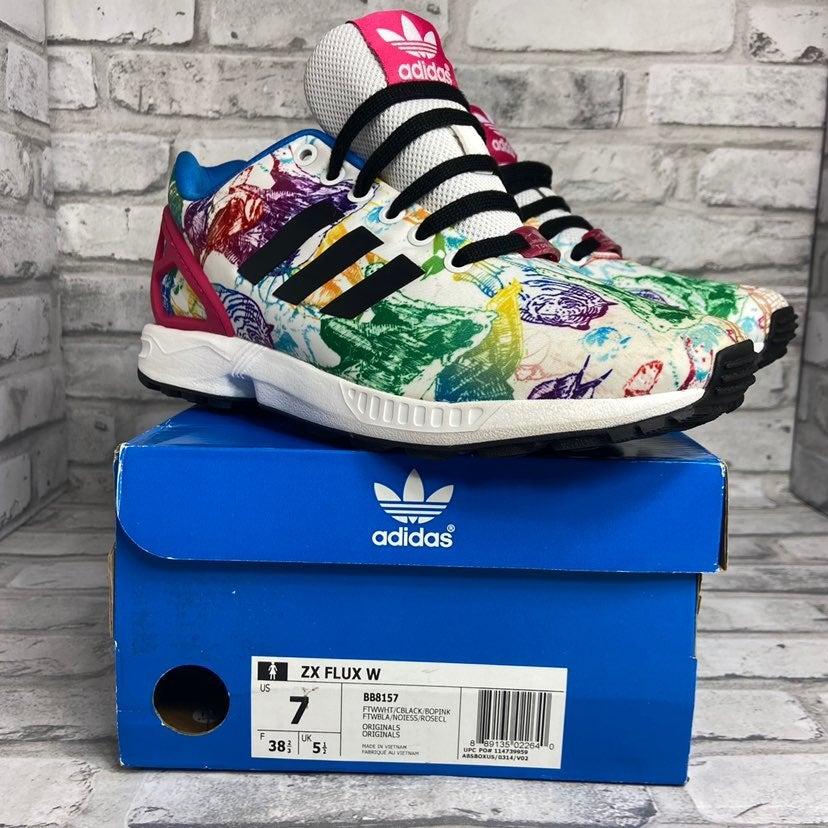 Adidas Floral Shoes   Mercari