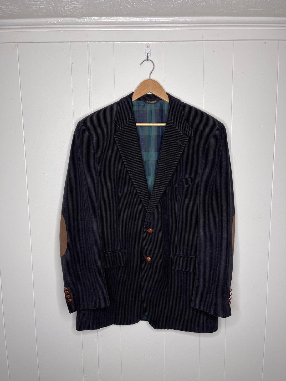 RALPH LAUREN corduroy blazer jacket 40L