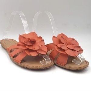 SONOMA slide on sandals flip flops size