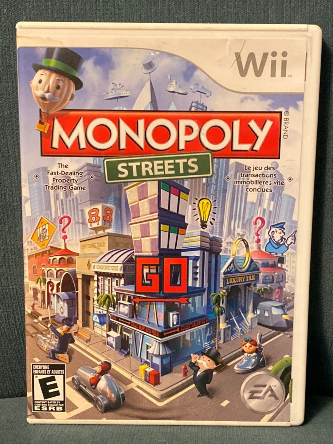 Monopoly Streets Nintendo Wii Game
