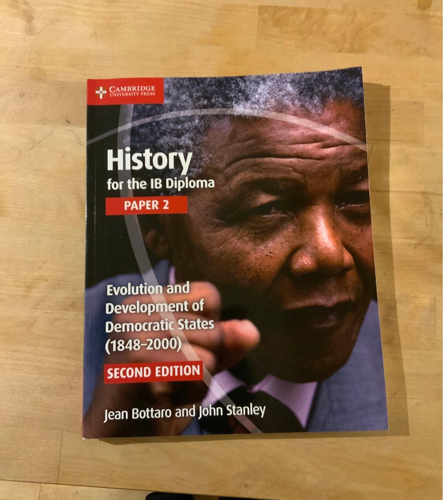 Ib history paper 2 book