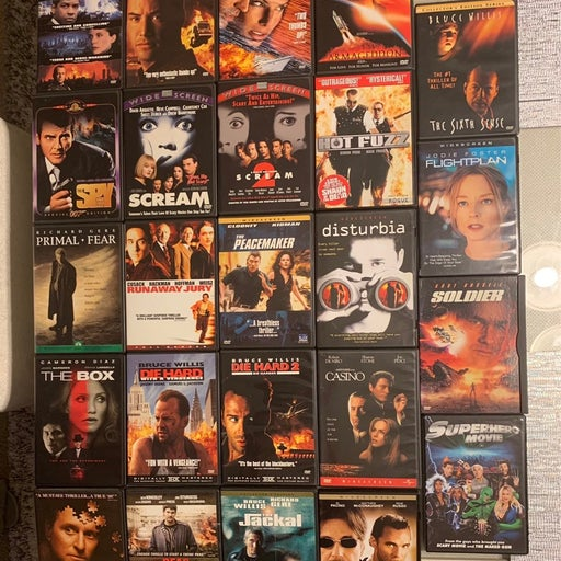 DVD Lot Of 29 Movies Excellent Condition