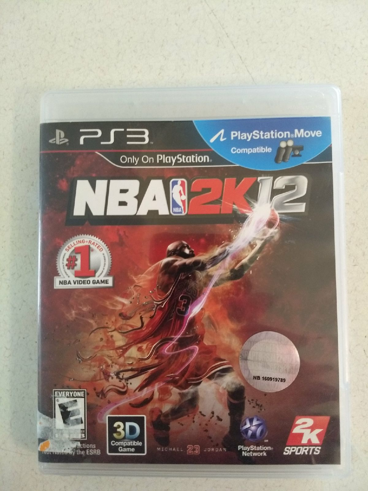 Michael Jordan NBA 2K12 PS3 Complete