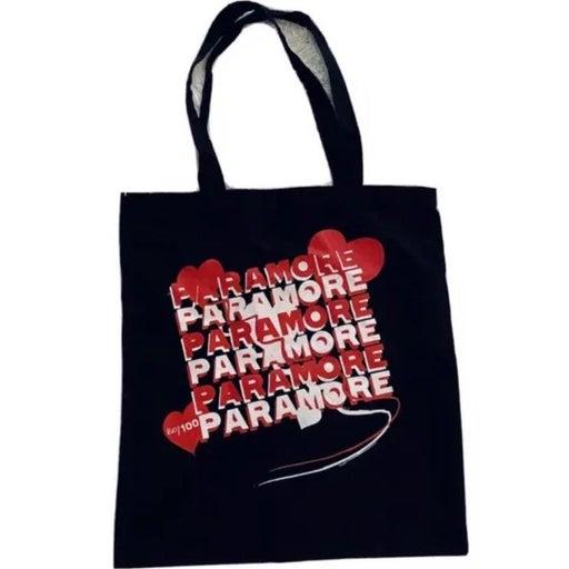 """RARE Paramore """"My Heart"""" Tote Bag NEW"""