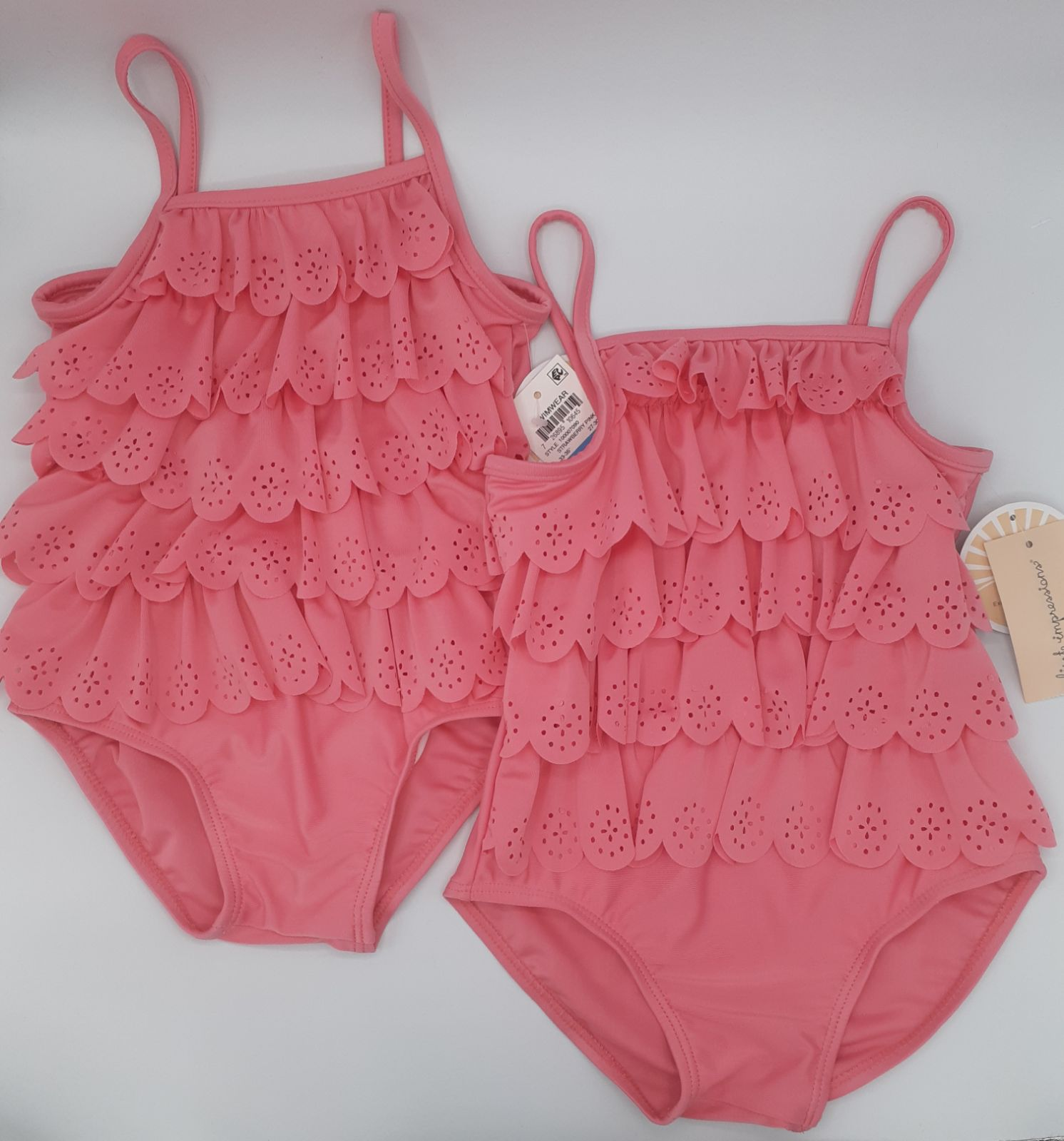 2 BABY GIRL FIRST IMPRESSIONS SWIMSUITS