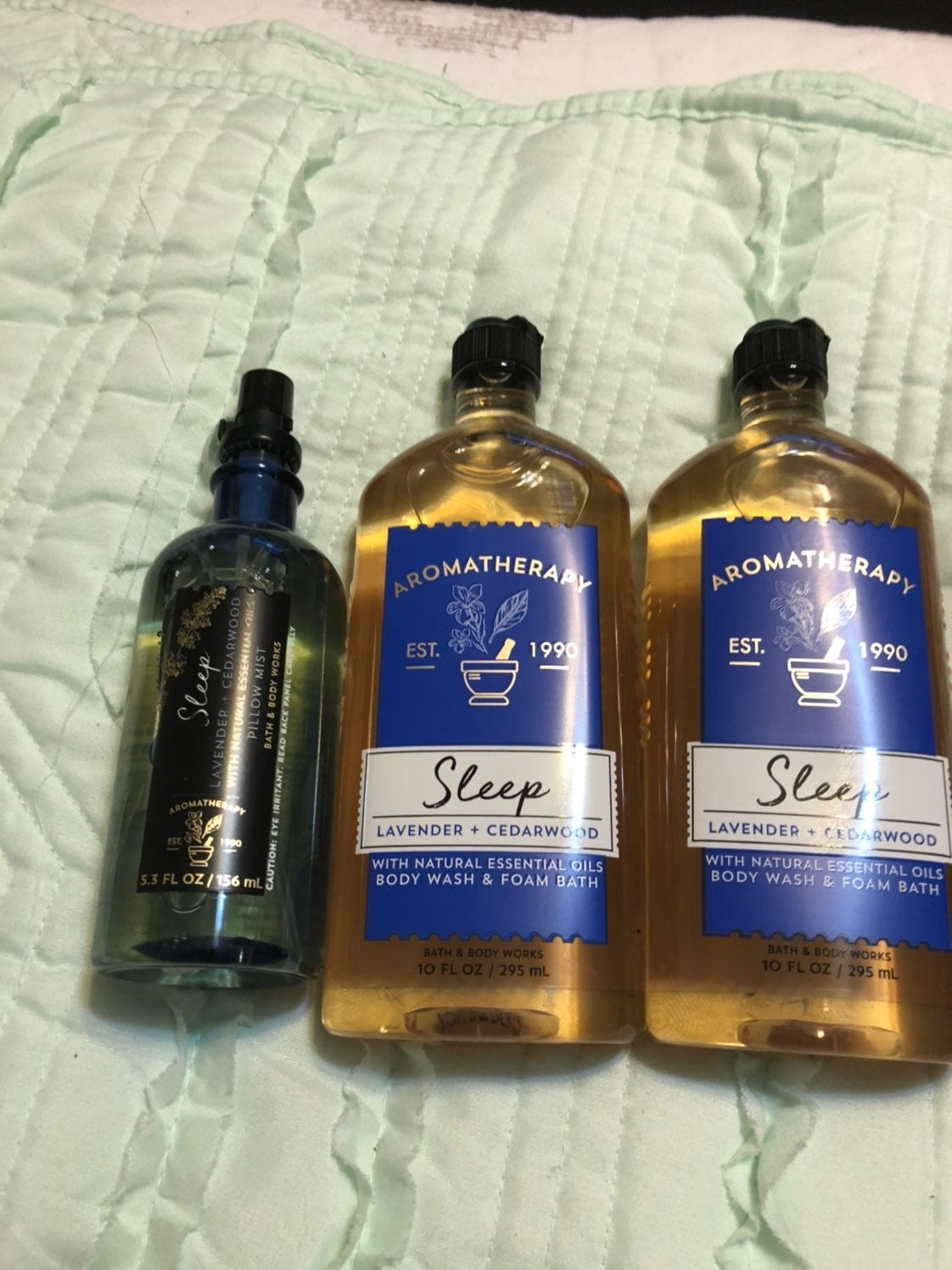 Bath and Body Works aromatherapy set