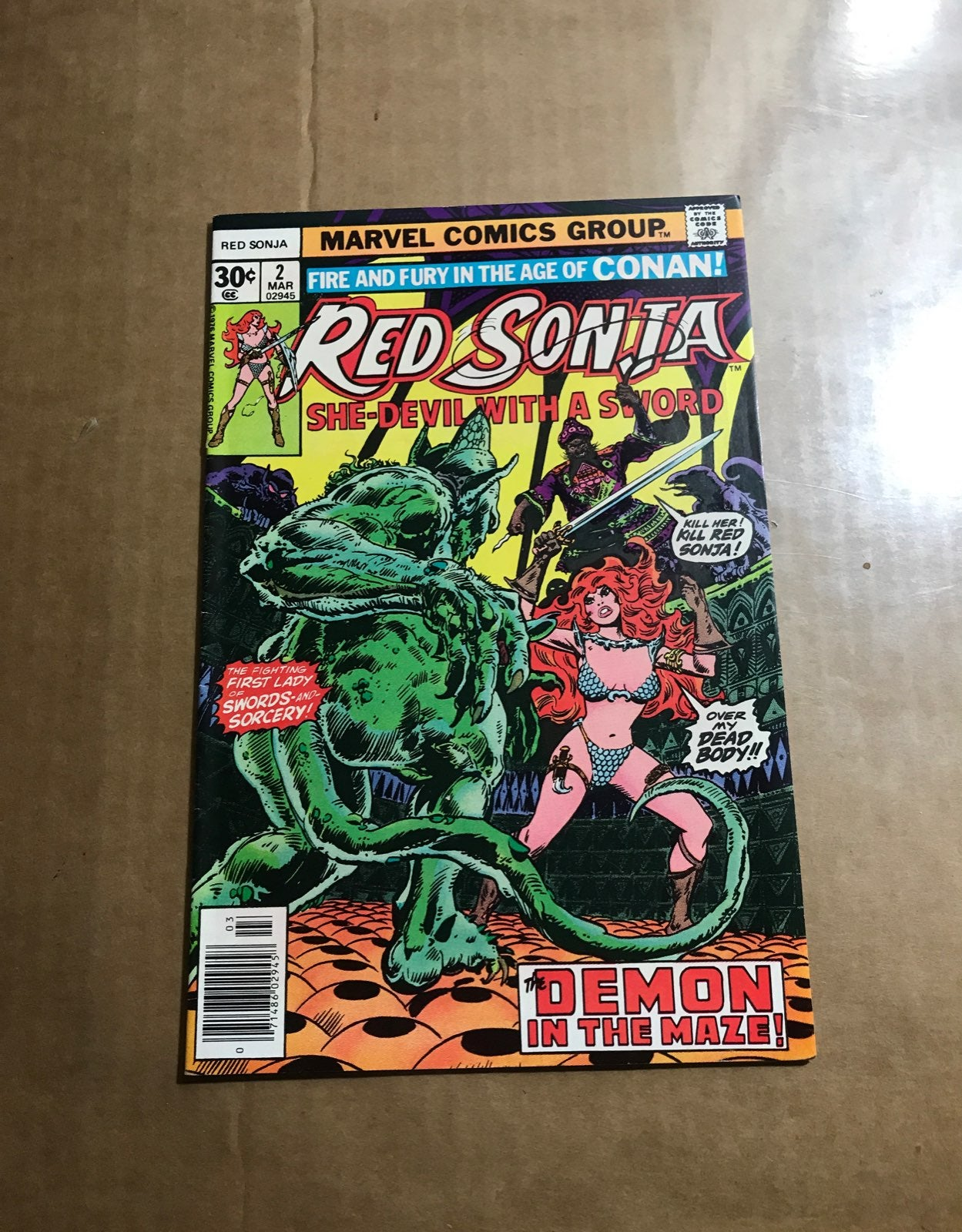 Red Sonja she Devil with the sword 2
