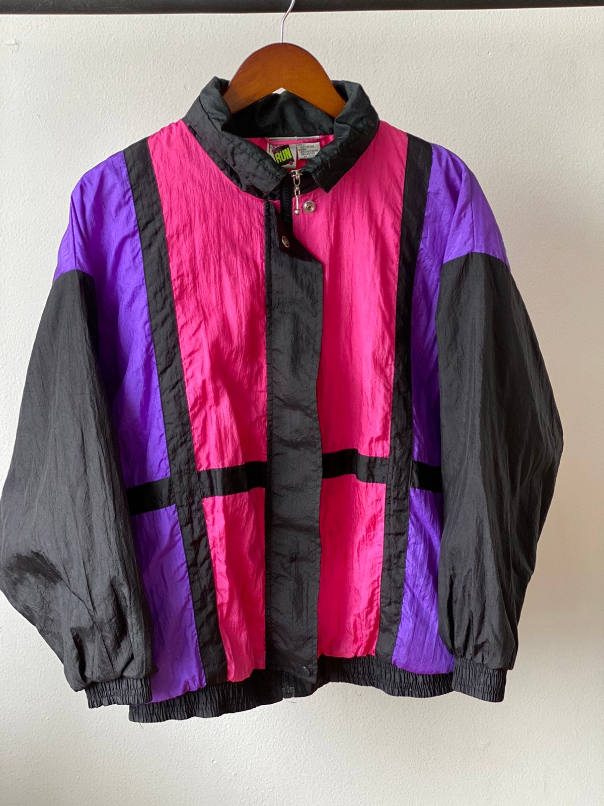 Vintage 80s First Run Color Block Jacket