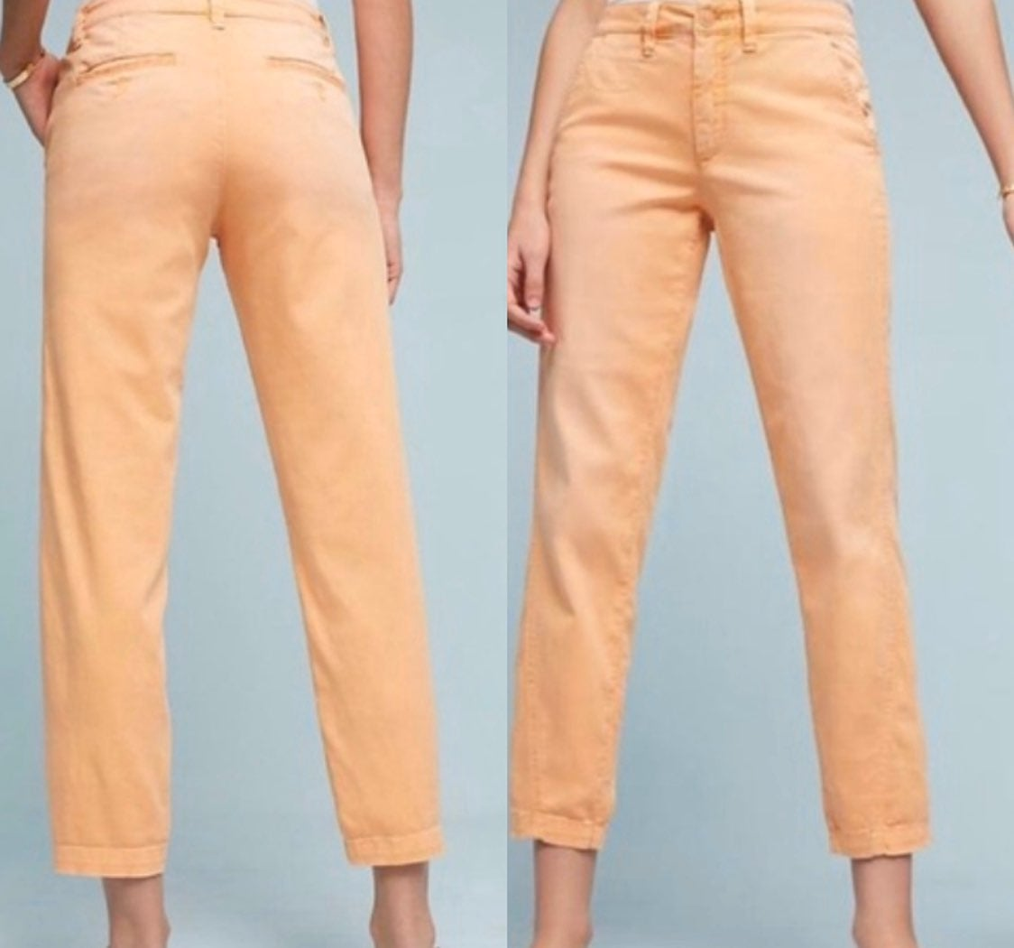 NWT $98 Anthropologie Relaxed Chino 33