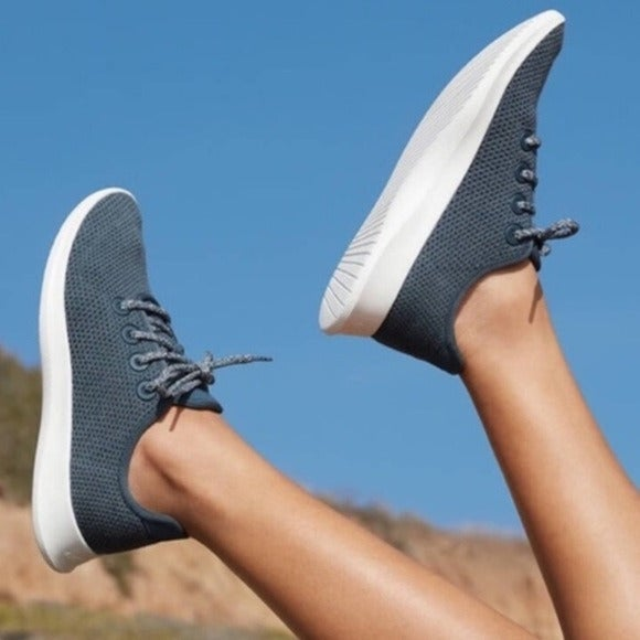 Allbirds Tree Runners Blue Gray