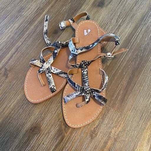 BP Snakeskin Sandals