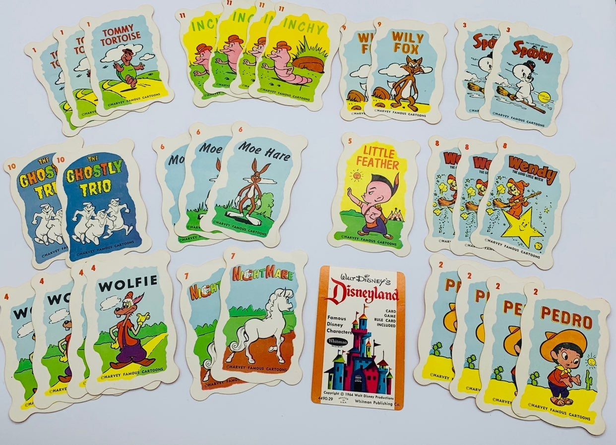Vintage Disney Playing Cards
