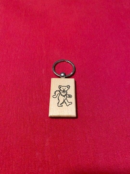 Grateful Dead Engraved Key Chain KariK