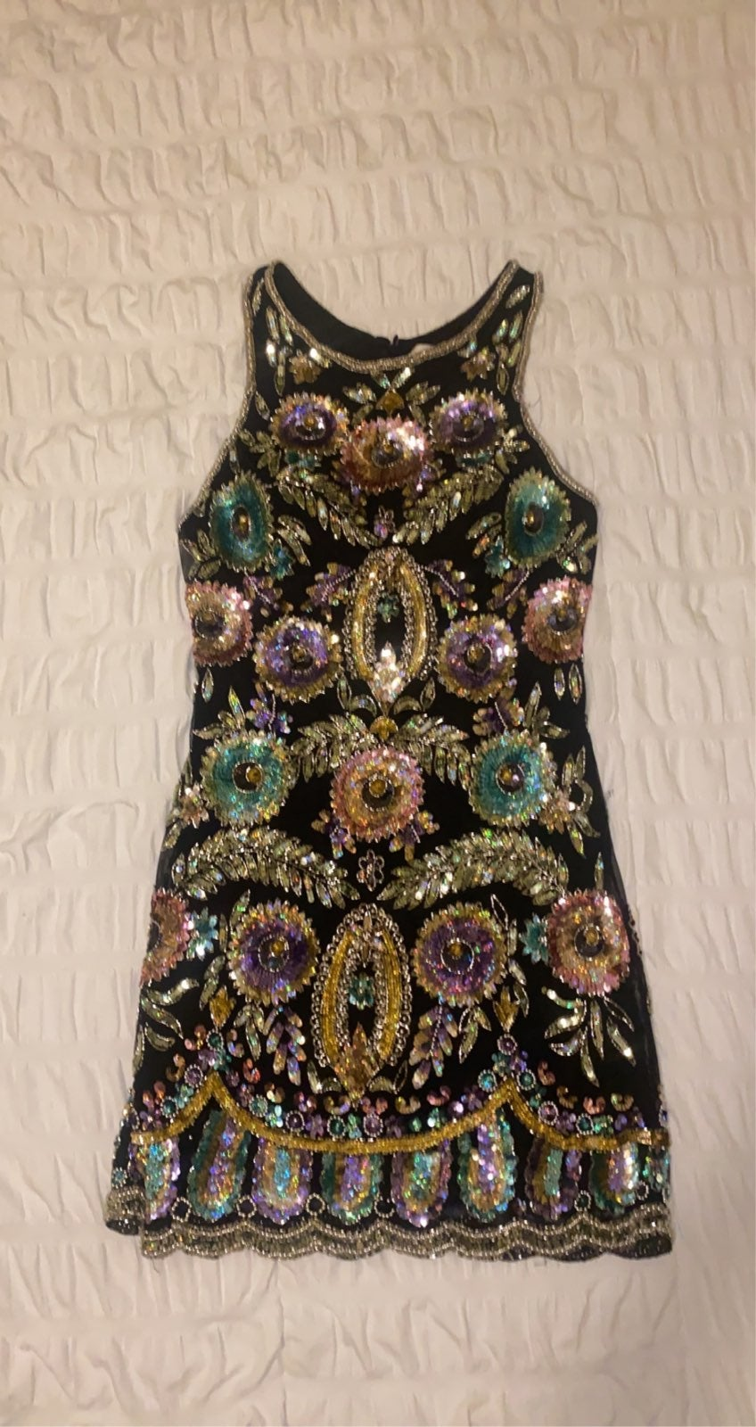 Sherri Hill Beaded Dress