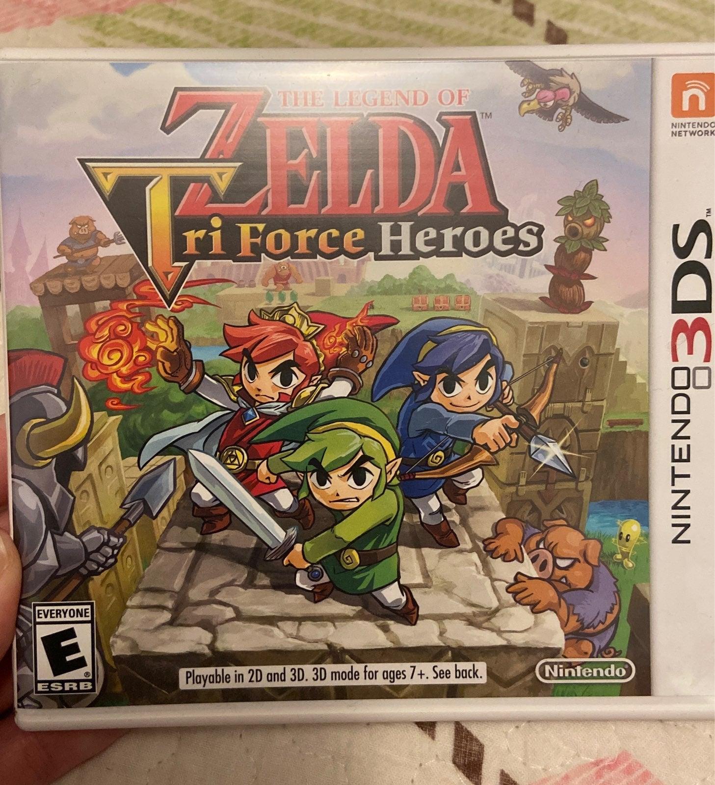 The Legend of Zelda: Tri Force Heroes on
