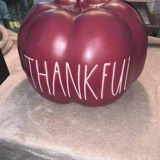 Rae Dunn THANKFUL Pumpkin