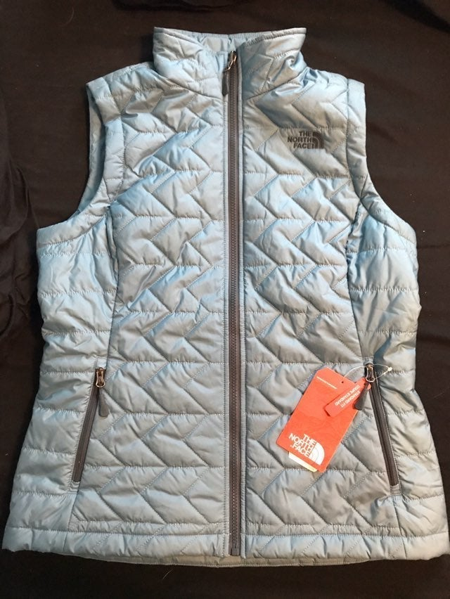 The North Face Blue Vest in Medium