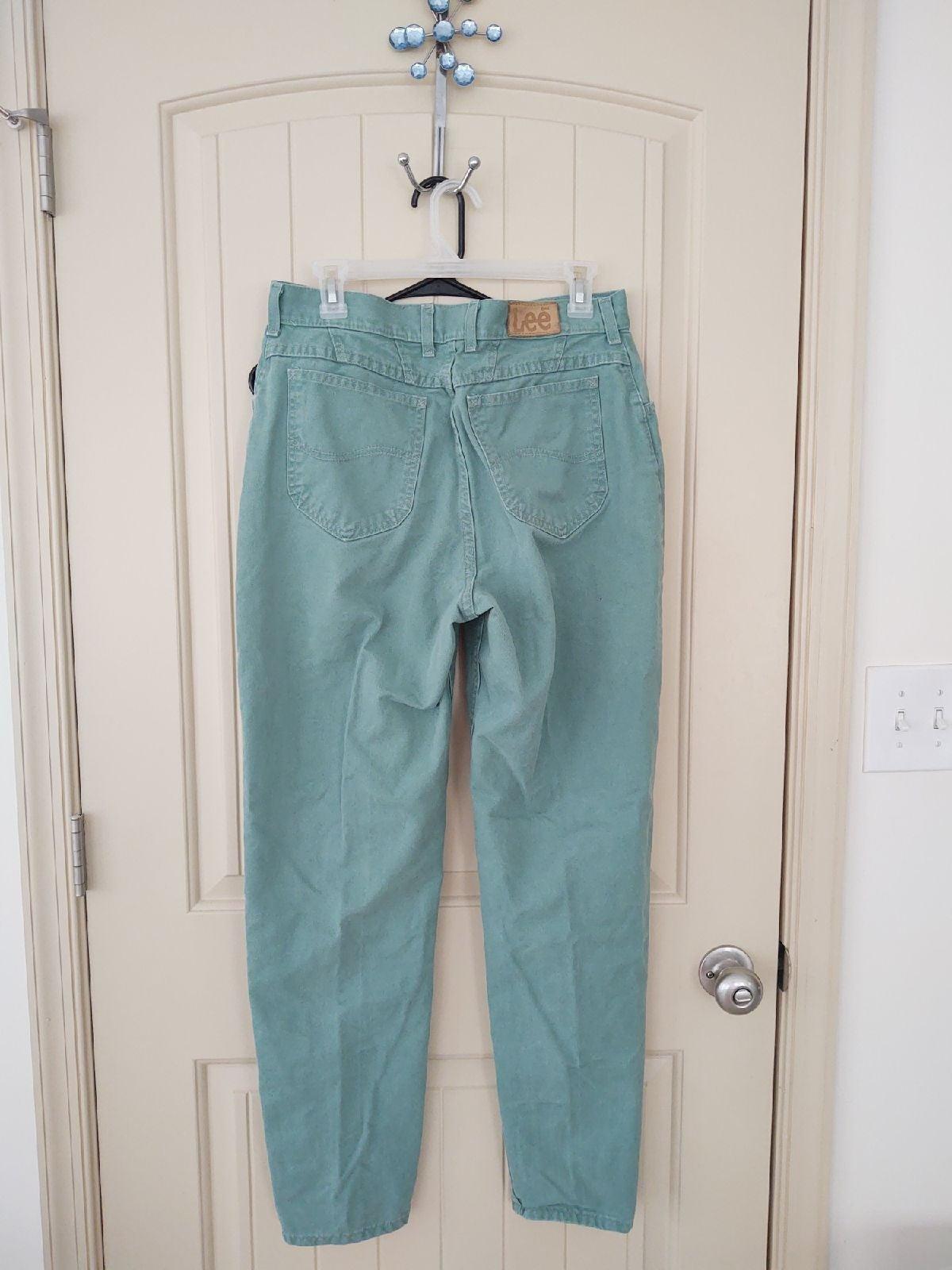 lee high waist pants