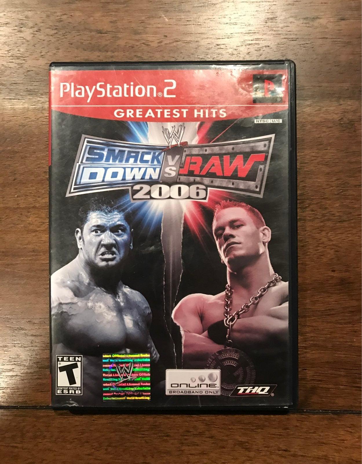 WWE SmackDown vs. Raw 2006 ps2