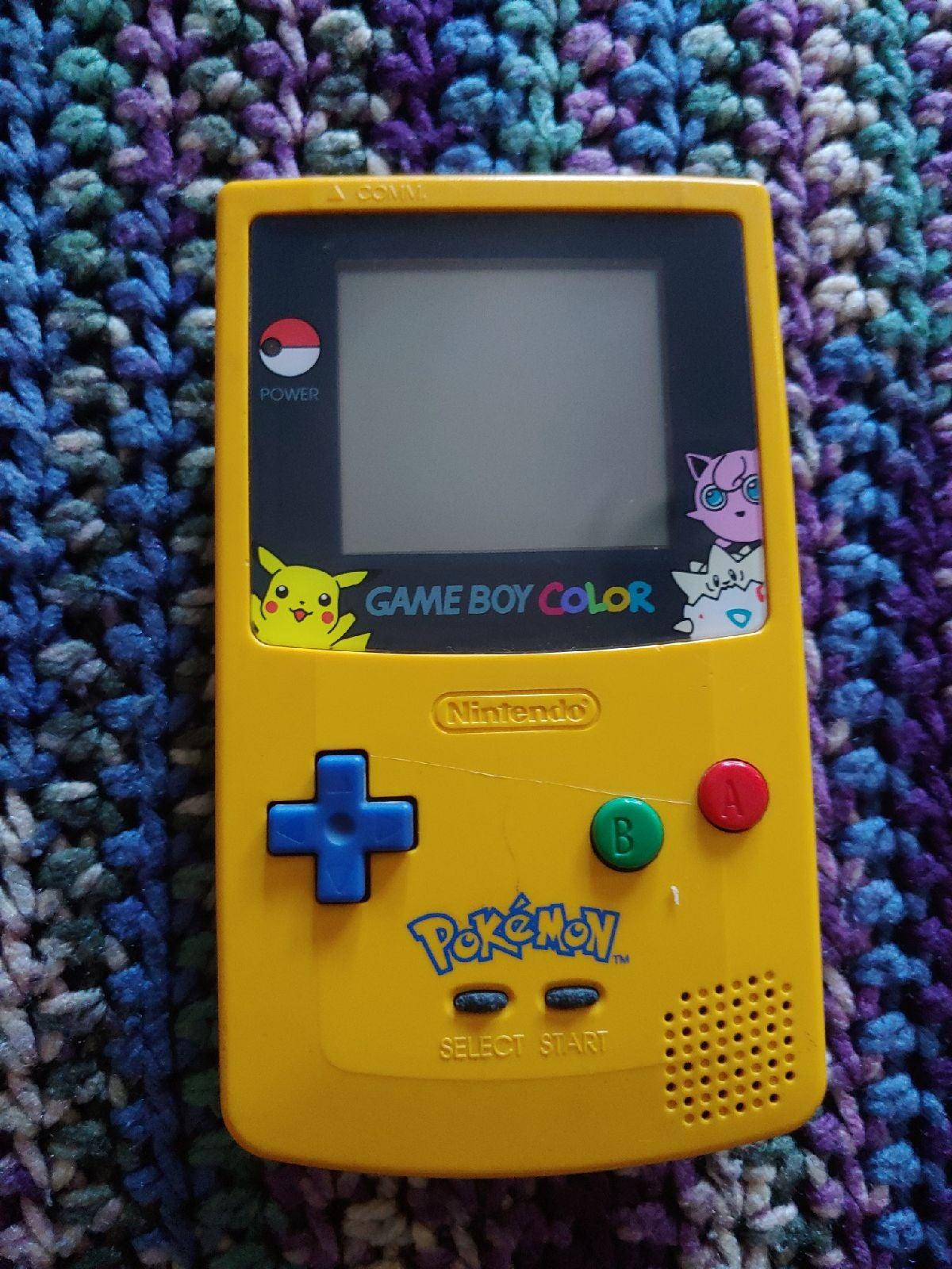 (No power) Game boy Color pokemon