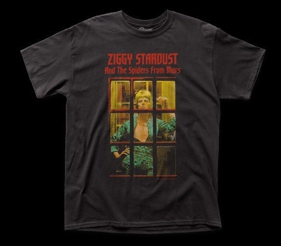 David Bowie – Ziggy Phone Booth Tee