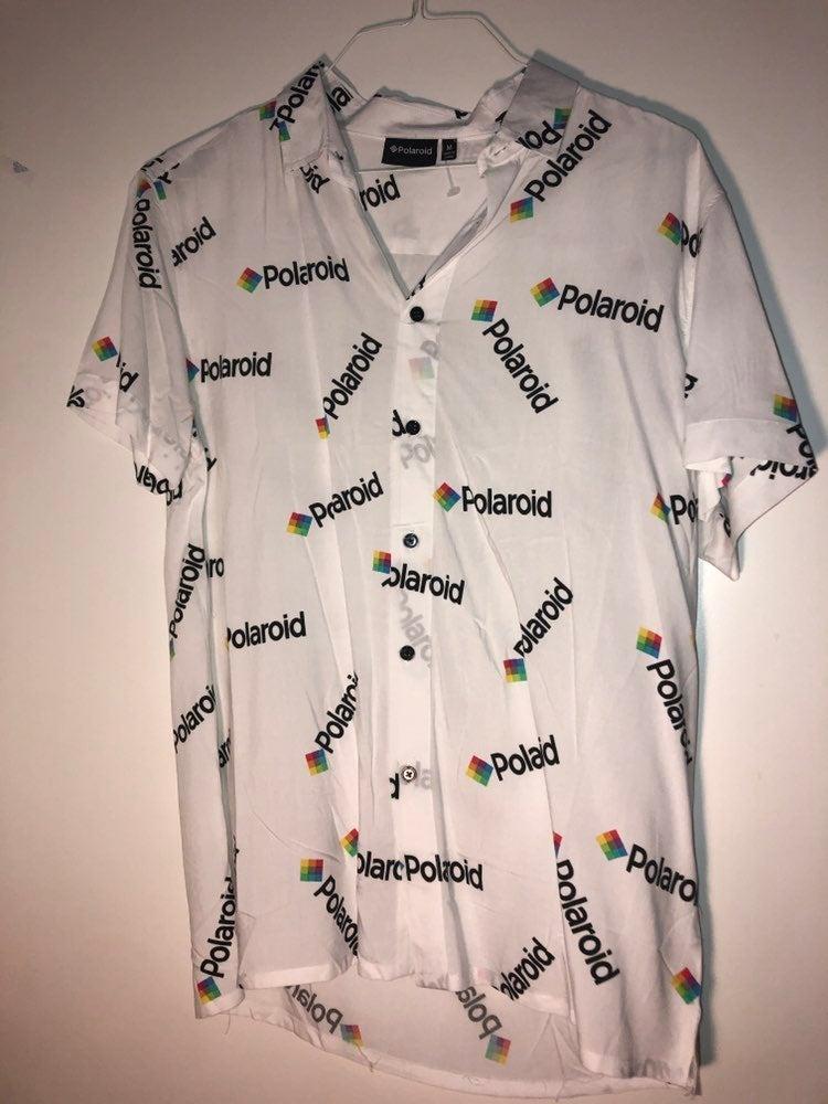 Polaroid Button Up Shirt