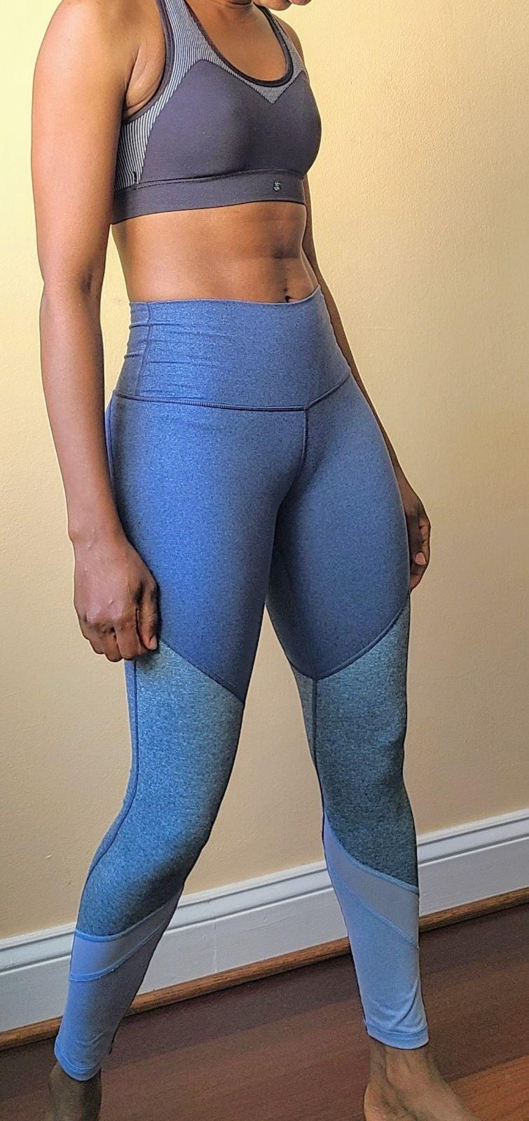 Aerie block color mesh size XS leggings