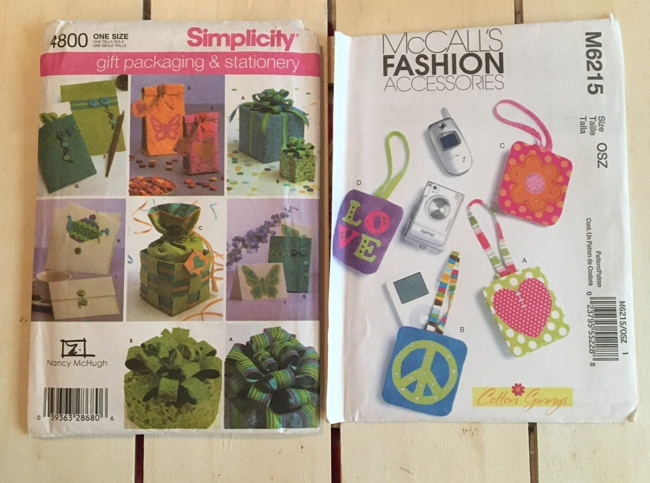 Crafts accessories sewing patterns uncut