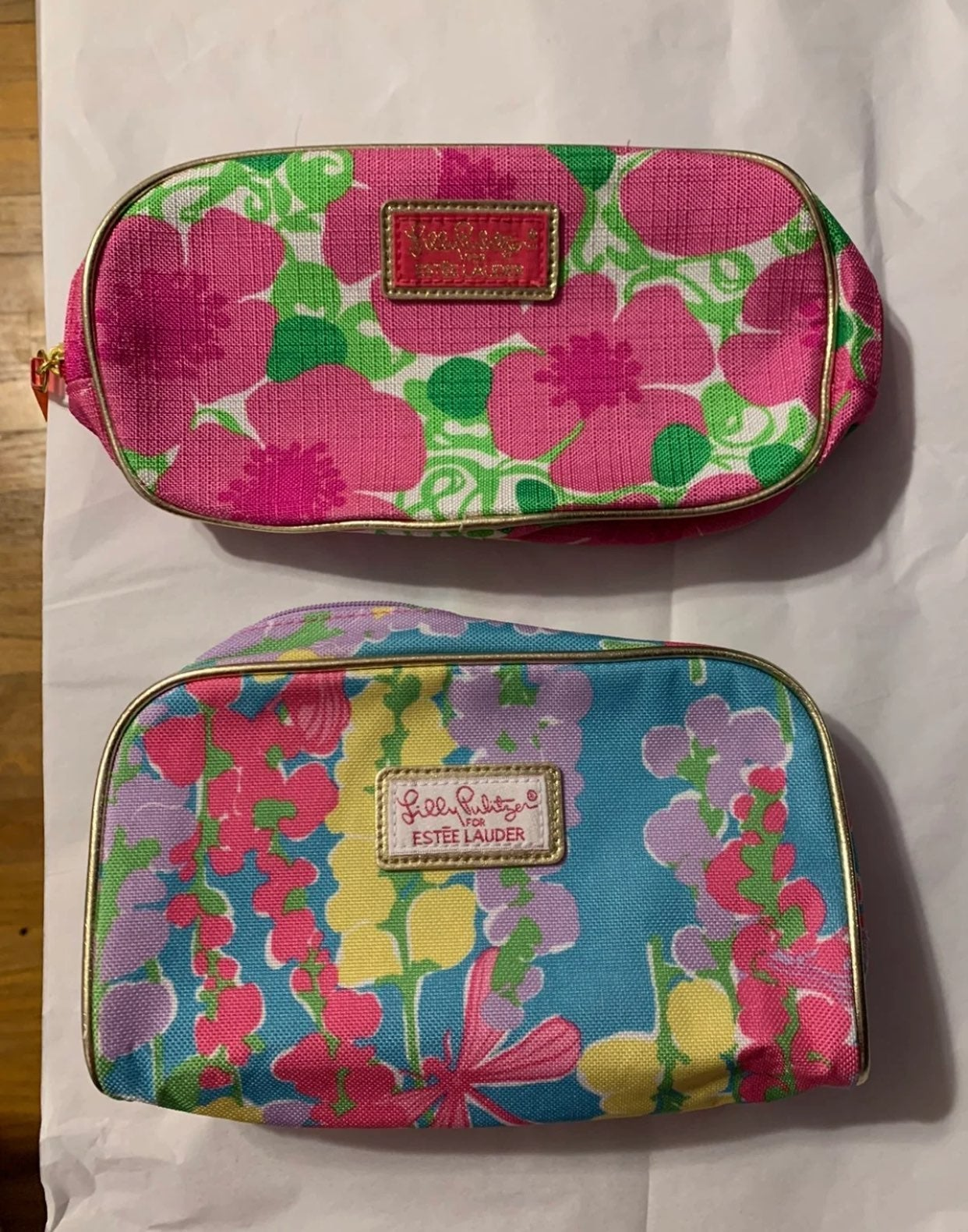lilly pulitzer cosmetic bags