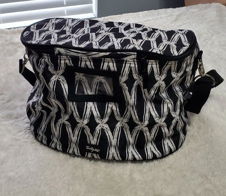 Thirty-One Black & White Insulated Bag