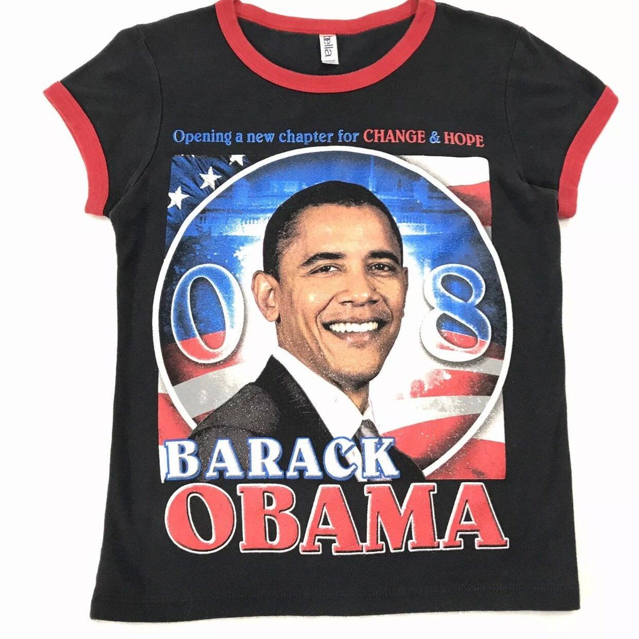 President Barack Obama T Shirt Women M