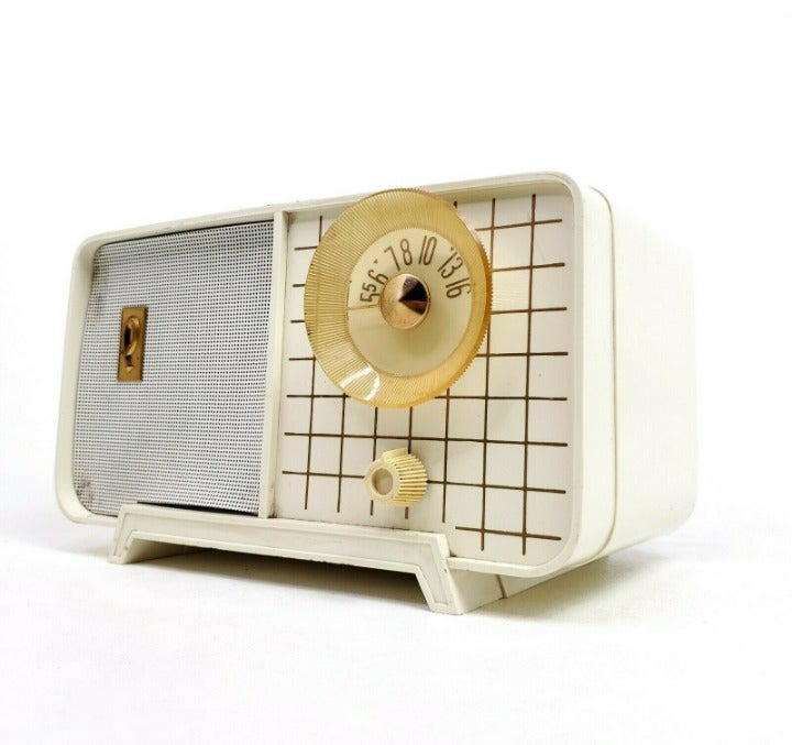 Vtg Philco Tube Radio Model E-810-124