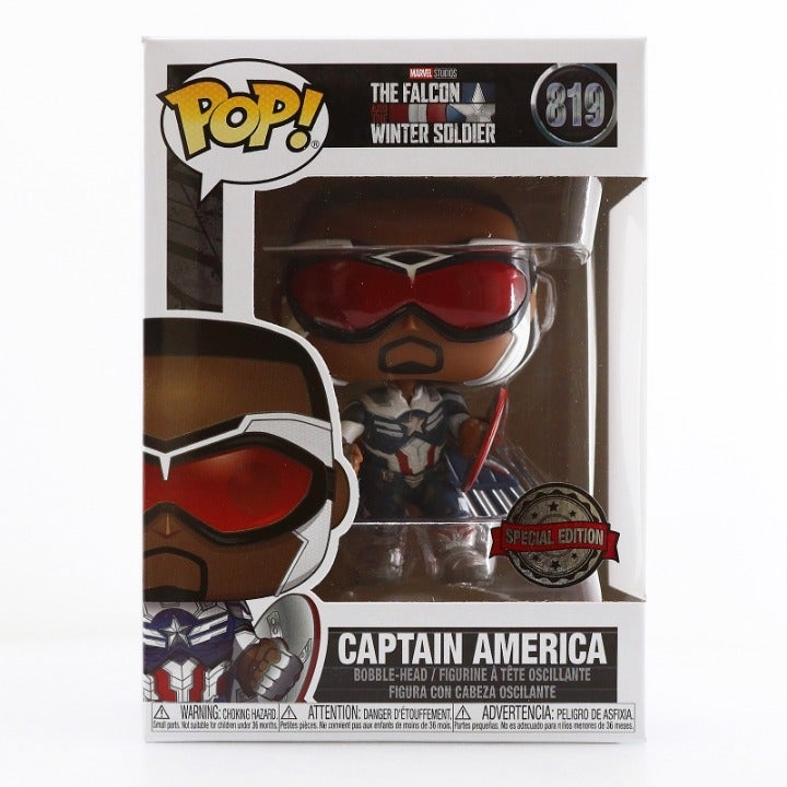 Funko Marvel Captain America With Wings