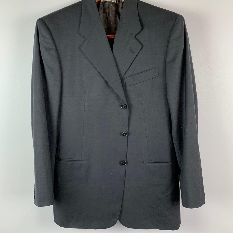 Belvest Italy 40 R Super 120 Wool Blazer