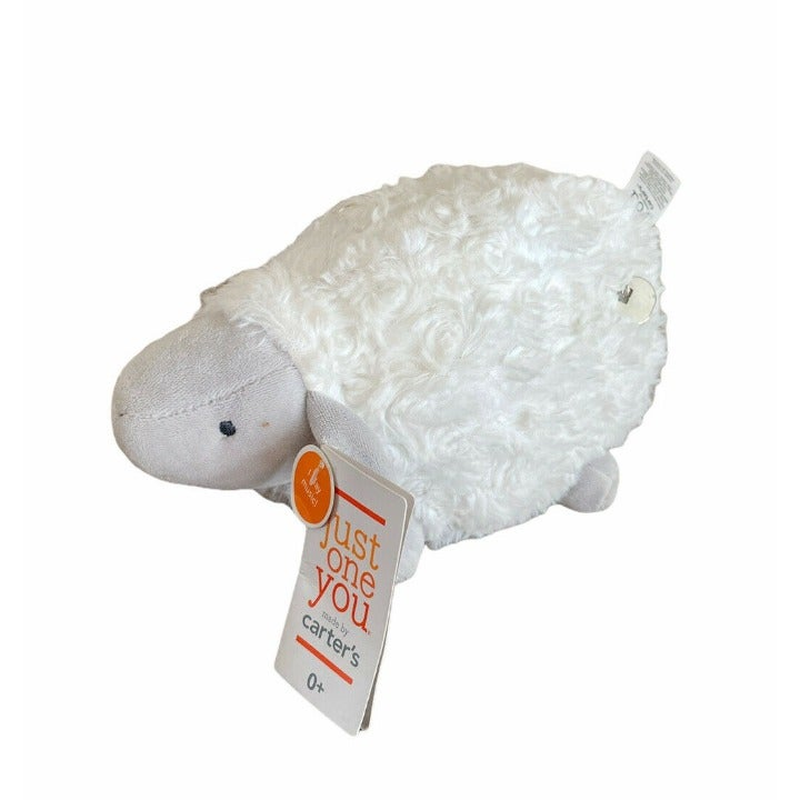 Carters White SHEEP Lamb Wind-Up Musical