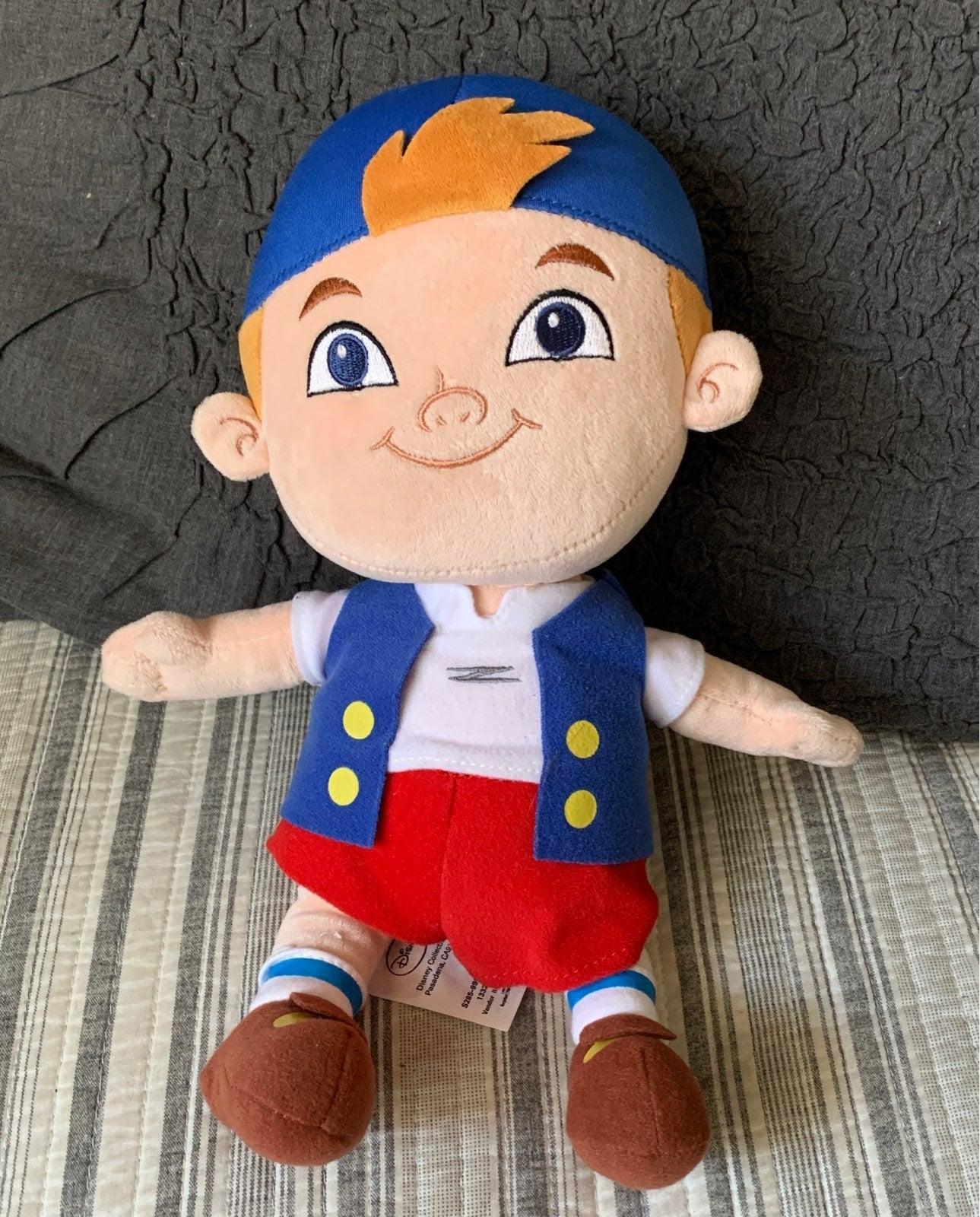 Disney's Cubby Jake Pirates Plush