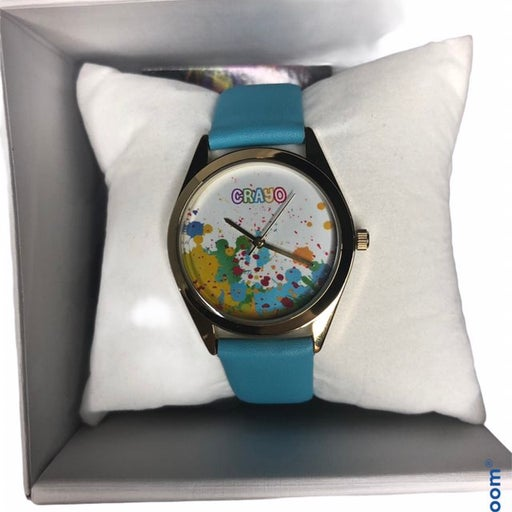 Crayo crazy for color watch grafitti