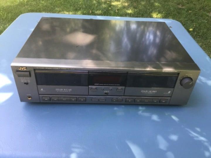 JVC Cassette Player Model TD-W305